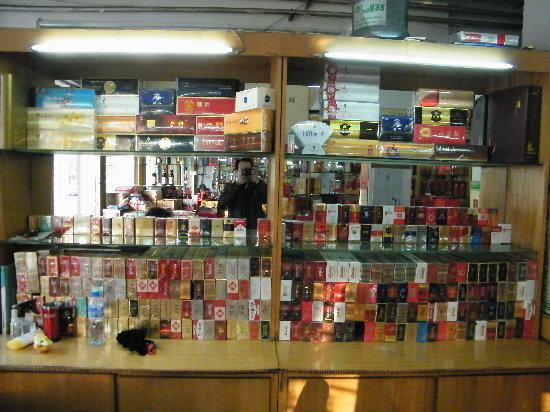 烟酒行室内装修图
